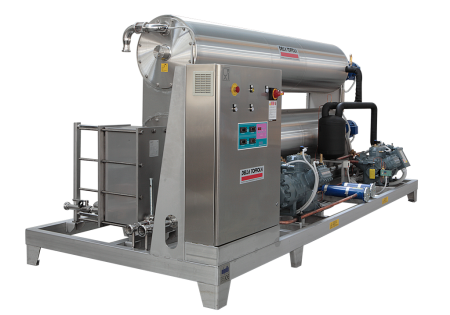Scraped-surface wine coolers CRA