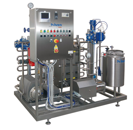 Pasteurizing units for the production of CSD