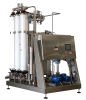 Organic ultrafiltration for water bottling lines