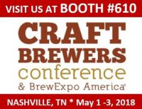 Della Toffola USA at Craft Brewers Conference 2018